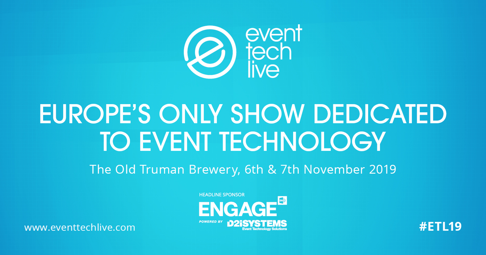 Event Tech Live 2019 Preview